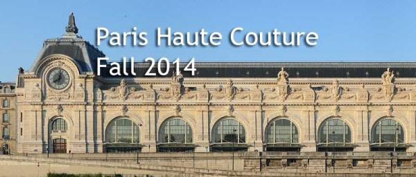 paris haute couture fall 2014