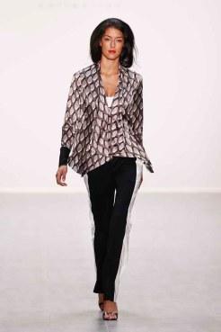 Anja Gockel Show - Mercedes-Benz Fashion Week Spring/Summer 2015