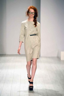 Barre Noire Show - Mercedes-Benz Fashion Week Spring/Summer 2015