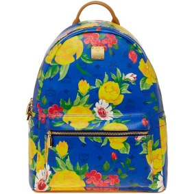 Blume Paradiso Flower Visetos Backpack Blue 4