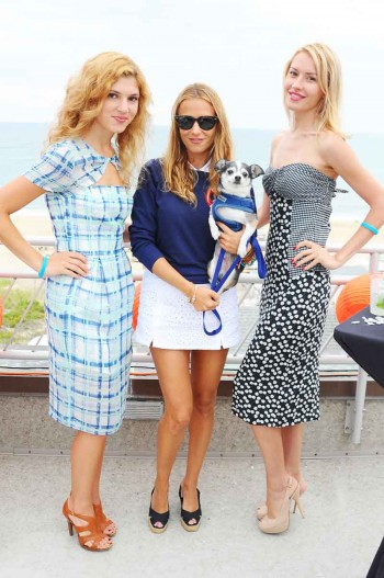 Charlotte Ronson with her models