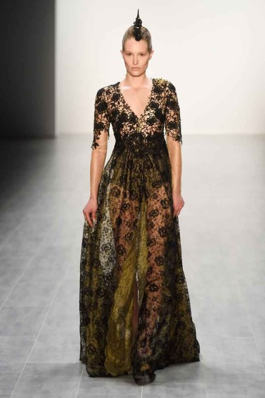 Irene Luft Show - Mercedes-Benz Fashion Week Spring/Summer 2015