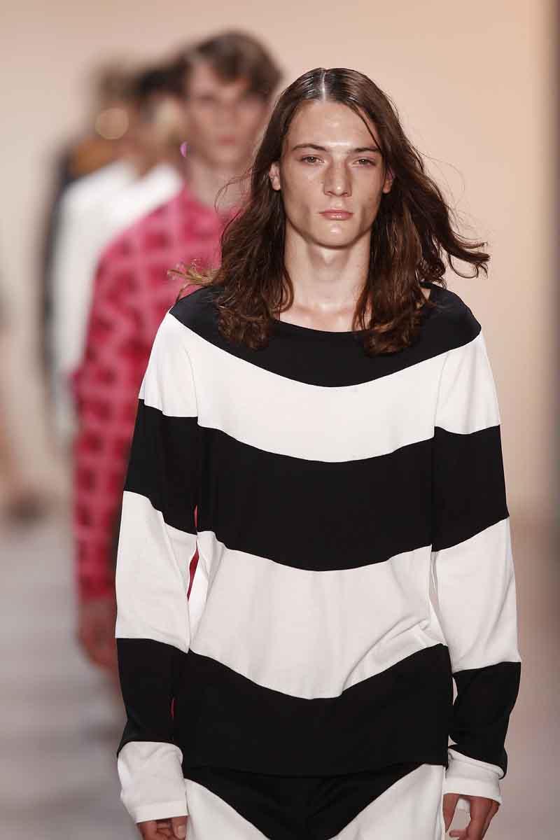 Julian Zigerli Show - Mercedes-Benz Fashion Week Spring/Summer 2015