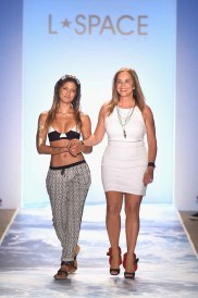 L*Space By Monica Wise - Runway - Mercedes-Benz Fashion Week Swim 2015