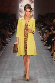 Lena Hoschek Show - Mercedes-Benz Fashion Week Spring/Summer 2015