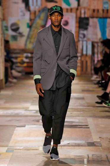 Y3 Menswear Spring Summer 2015 Paris Fashion Week June 2014