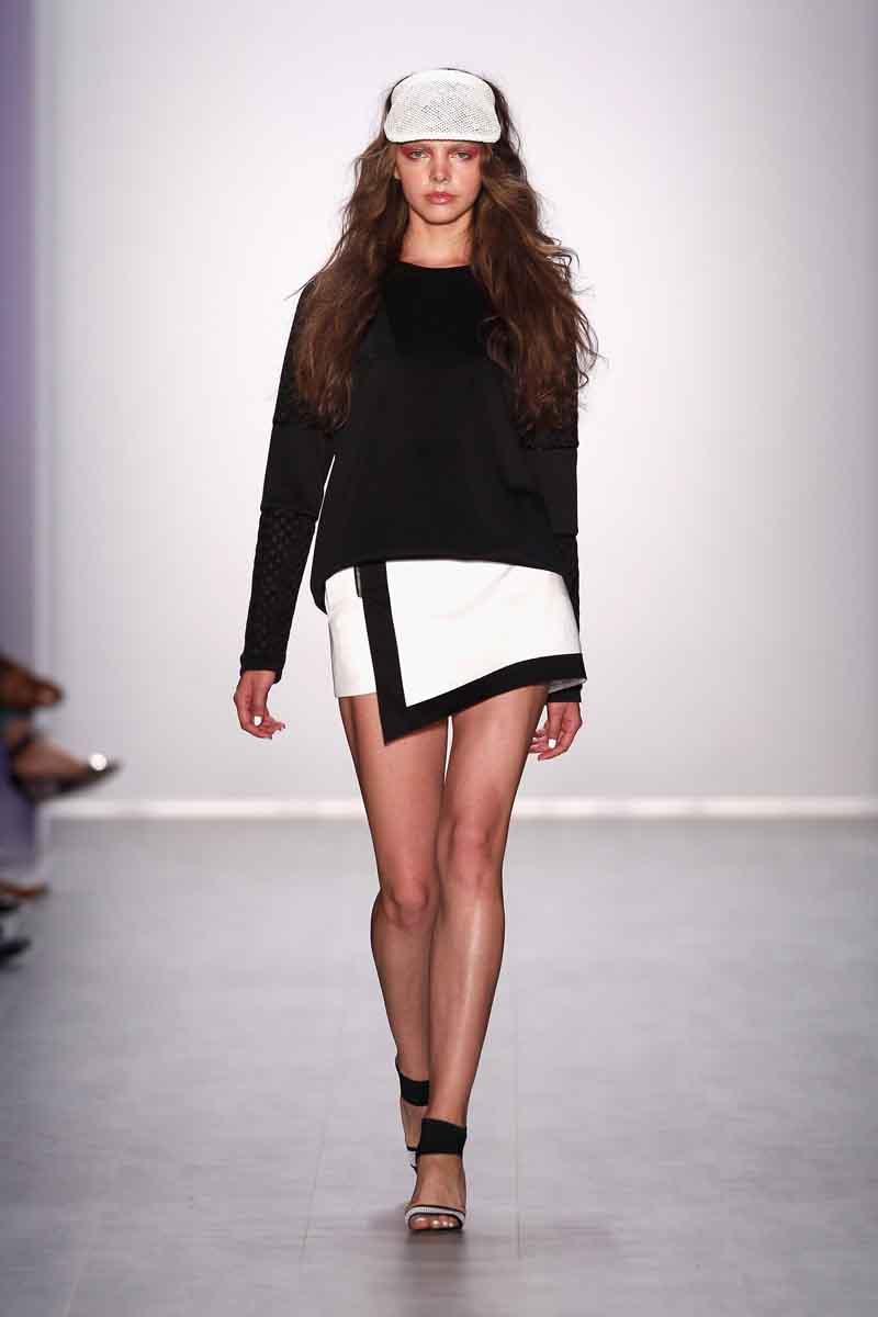 Glaw Show - Mercedes-Benz Fashion Week Spring/Summer 2015
