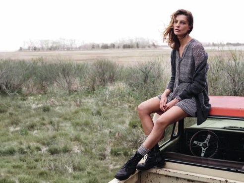 Daria Werbowy for Mango F14 (14)