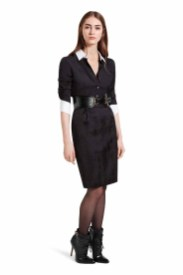 Give everyday shirt and skirt dressing an update with the glamour of the subtle black python print. Pair these pieces with sleek ankle boots to heighten the luxurious appeal. LOOK 16 Dress in Black, $49.99* Croc Effect Belt in Black, $29.99** Ankle Boot in Black, $59.99 *TARGET.COM EXCLUSIVE ** AVAILABLE GLOBALLY ON NET-A-PORTER.COM