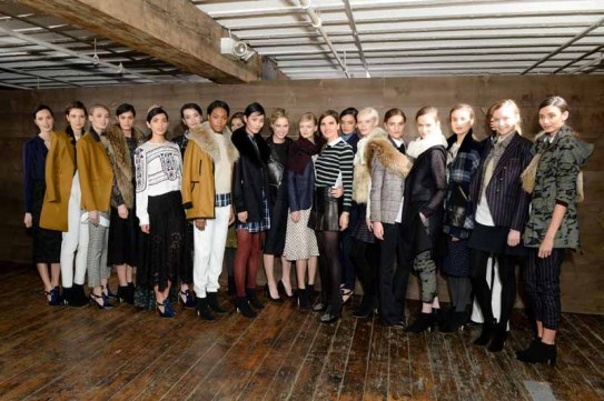 Veronica Beard Fall 2015 Presentation