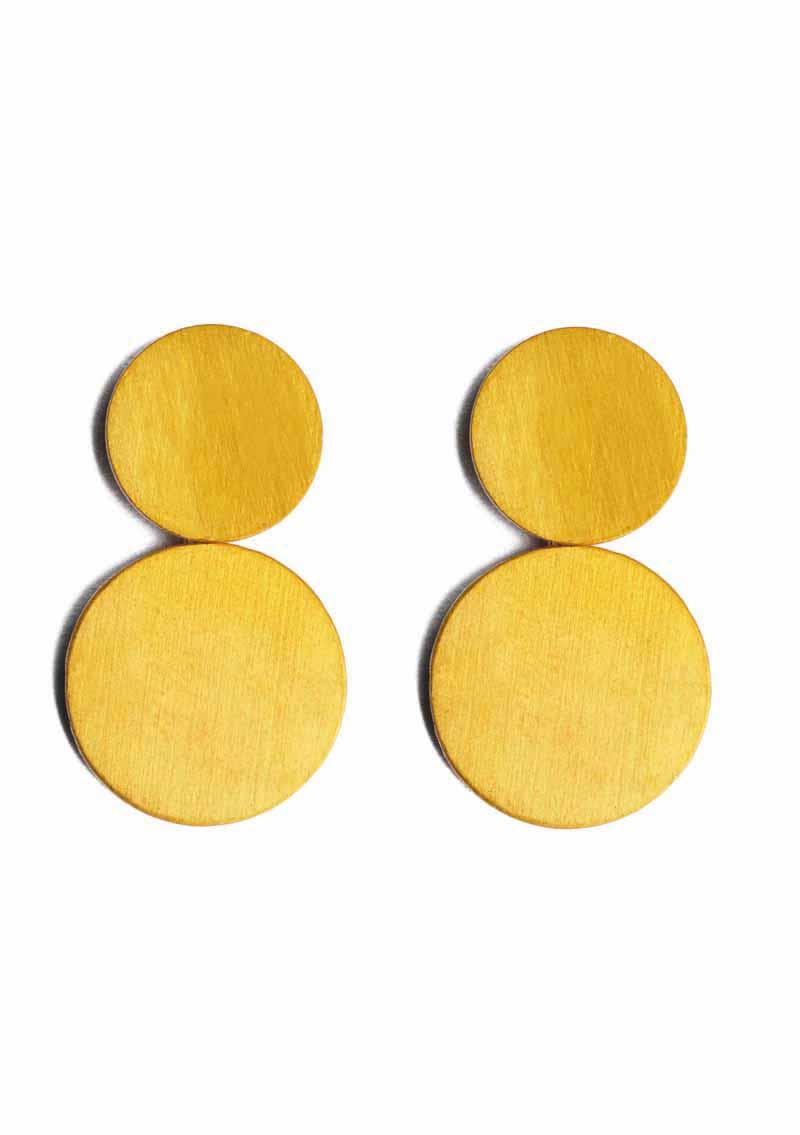 ILU1234 Gold Incandescence earrings