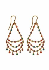 ILU1241 Dancing Emilie multicolored earrings light