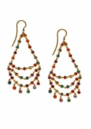 ILU1241 Dancing Emilie multicolored earrings
