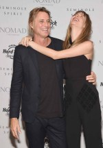 Russell James and Behati Prinsloo