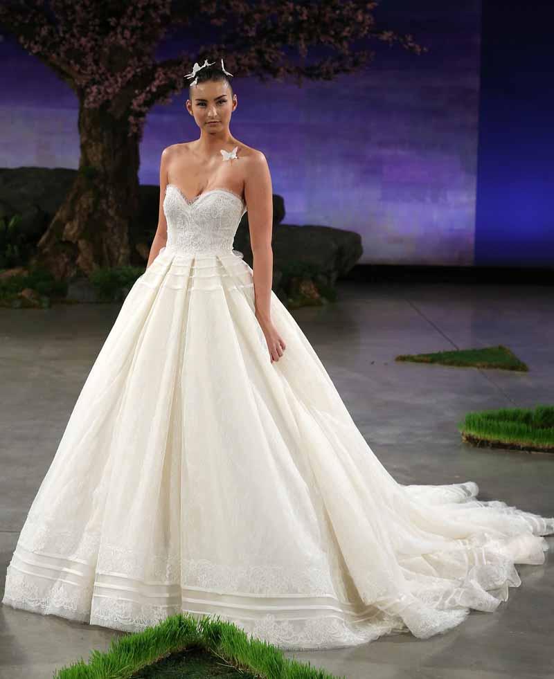 Ines Di Santo Bridal Spring/Summer 2016 Runway Show