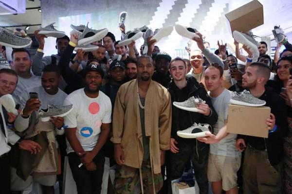 Kanye YEEZY 350 London (1)