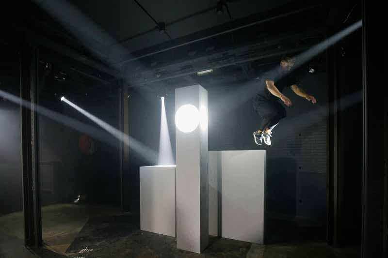 Adidas Originals Tubular Paris Fashion Week Performance