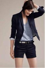 ann taylor short suit