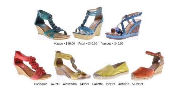 spring step shoes summer 2016