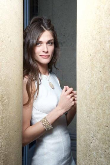 Elisa SEDNAOUI . Buccellati. Opera Collection Event. Hotel Salomon de Rothschild. 6 july 2015 © david atlan