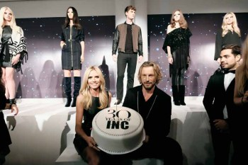 Heidi Klum + Gabriel Aubry Celebrate The Launch Of INC's 30th Anniversary Collection