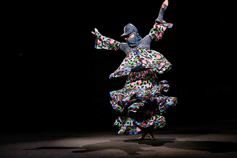 KENZO x H&M launch event : directed by Jean-Paul Goude - FRONT ROW