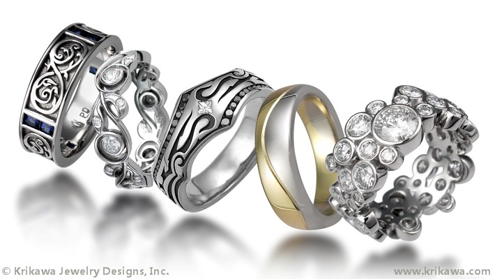 Trending Unique Wedding Bands FashionWindows