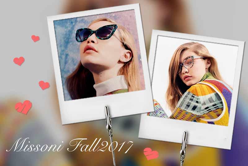 b1f5e895c2e5 Gigi Hadid Headlines Missoni Fall Winter 2017 Campaign - FashionWindows