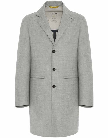 Canali Waterproof Car Coat