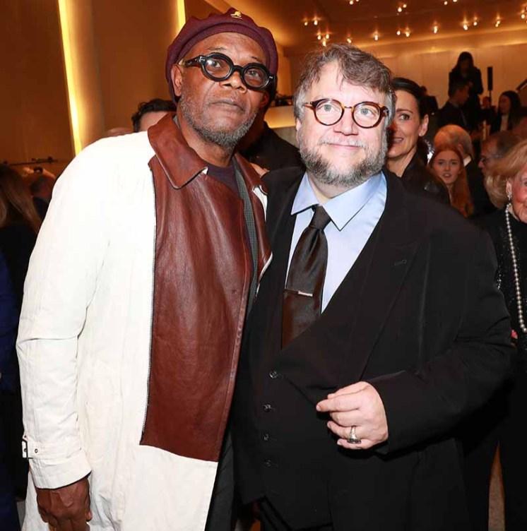 Samuel L. Jackson, Guillermo del Toro