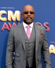 The 53rd Academy of Country Music Awards red carpet is held at the MGM Grand Garden Arena on the Las Vegas Strip. Here singer/songwriter Darius Rucker walks the ACM red carpet. Sunday, April 15, 2018. CREDIT: Glenn Pinkerton/Las Vegas News Bureau