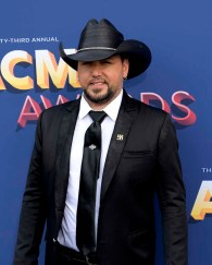 The 53rd Academy of Country Music Awards red carpet is held at the MGM Grand Garden Arena on the Las Vegas Strip. Here singer/songwriter and nominee for Entertainer of the Year and Male Vocalist of the Year Jason Aldean walks the ACM red carpet. Sunday, April 15, 2018. CREDIT: Glenn Pinkerton/Las Vegas News Bureau