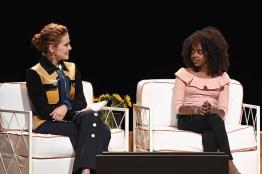 Actor Zoey Deutch and Activist Naomi Wadler