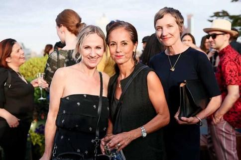 Sue Stemp, Maria Cornejo, Marcia Patmos