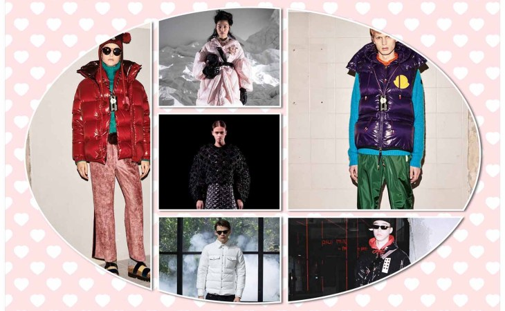 9 Moncler collage