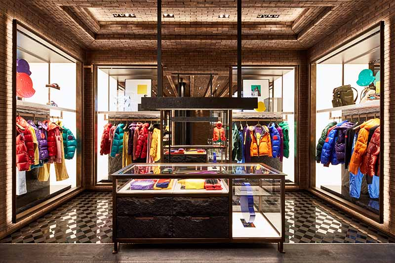 quality design cc227 7edc7 Moncler Soho Boutique Moves to 99 Prince Street New York ...