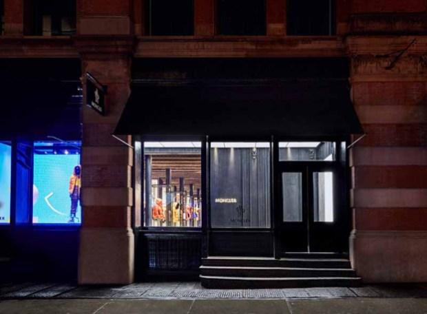 quality design 203f9 510de Moncler Soho Boutique Moves to 99 Prince Street New York ...