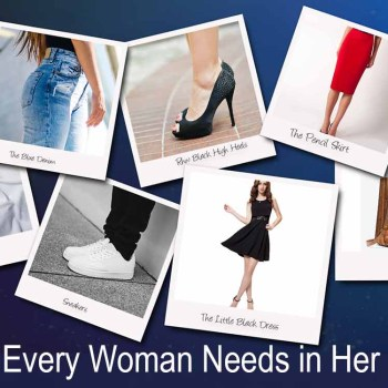 7 Items Every Woman Needs in Her Closet