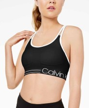 Calvin Klein Performance Strappy-Back Low-Impact Sports Bra PFYT2413