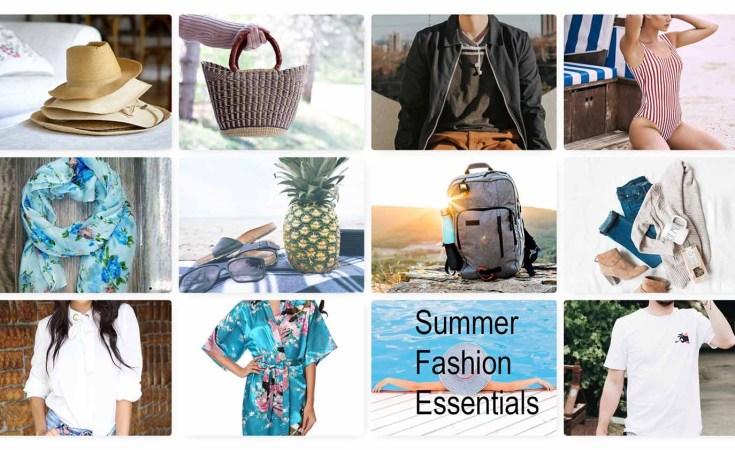 summer fashion essentials