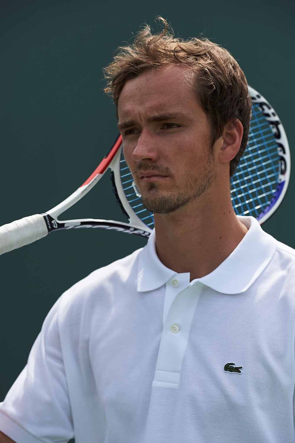 Russian Tennis Ace Daniil Medvedev Joins Team LACOSTE