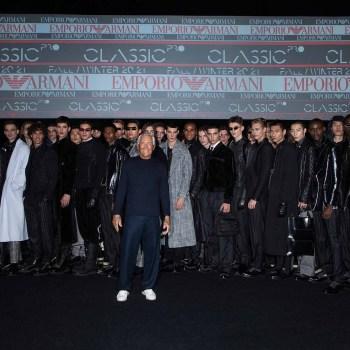 Emporio Armani Men Fall 2020