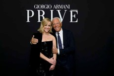 Reese Witherspoon and Giorgio Armani_