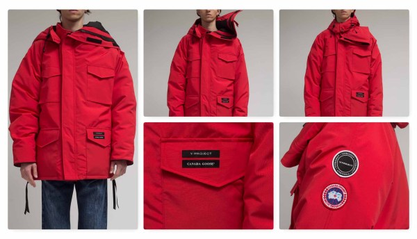 y project x canada goose F20-01
