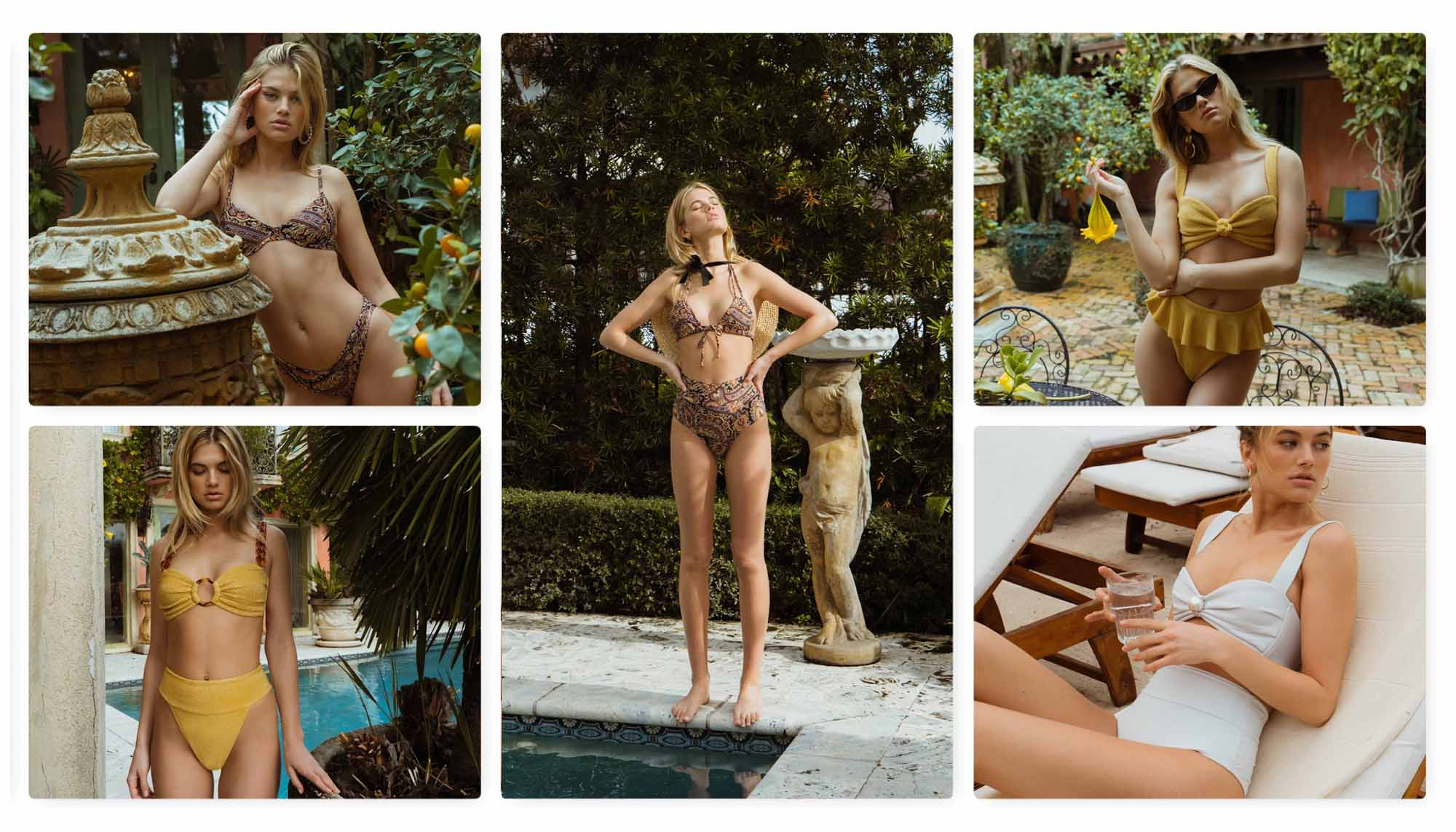 Montce Swim Summer 2020: Retro Meets Sexy and Bright