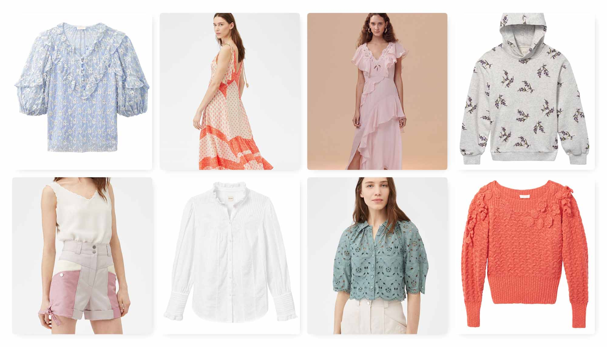 Rebecca Taylor Spring 2020 Pastels:  Chic & Comfy for WFH