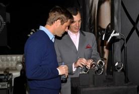 Aaron Eckhart at Piaget Lounge at Spirit Awards