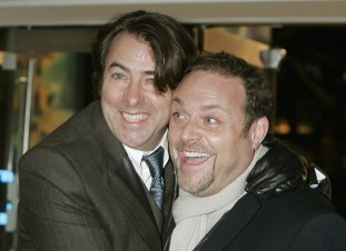 Jonathan Ross and John Thompson