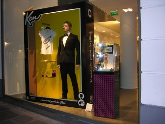 Ken Store Window at Collete Paris