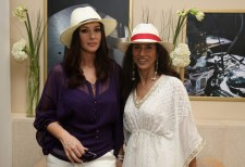 Shobhaa De and Monica Bellucci